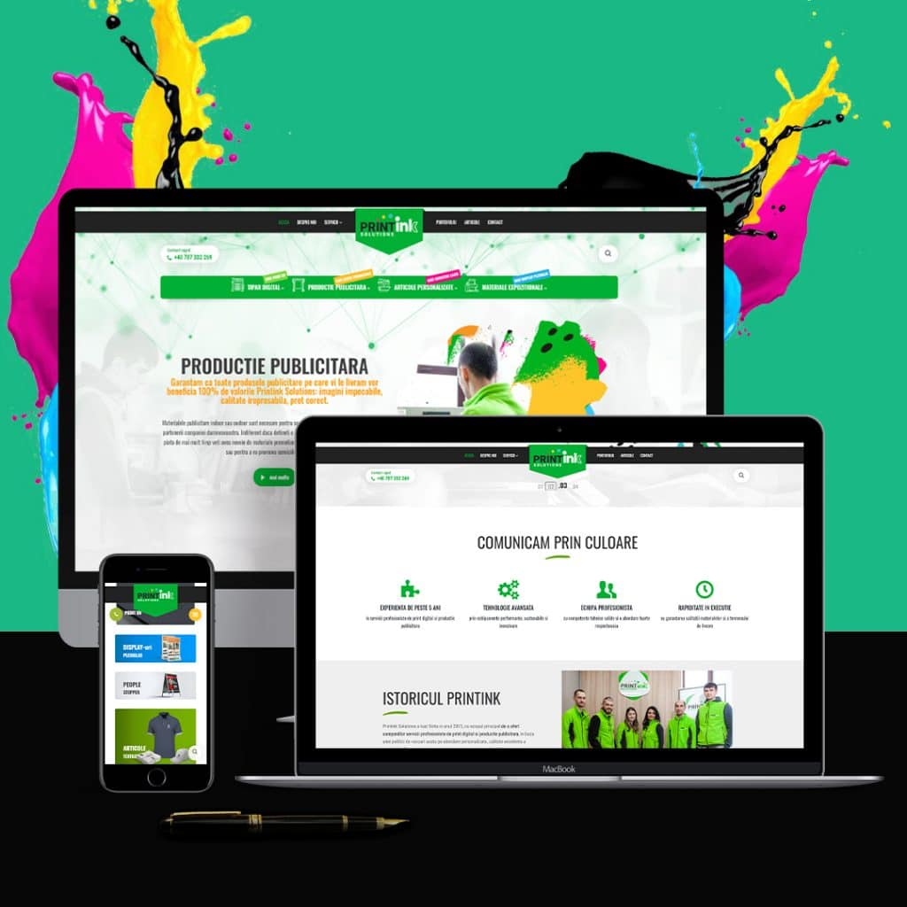 dezvoltare web - printink solutions